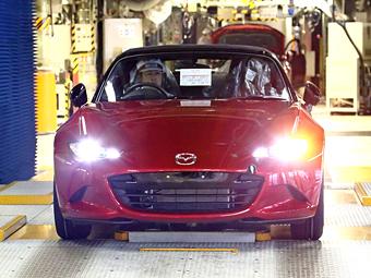 Производство Mazda MX-5. Фото Mazda