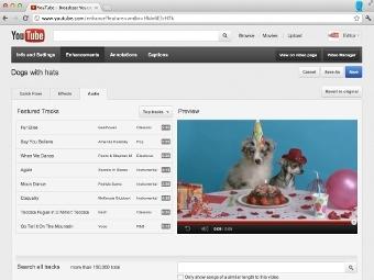 YouTube предложил авторам роликов 150 тысяч саундтреков