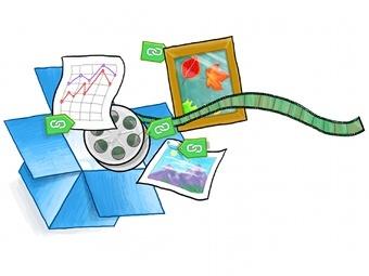 Облачное хранилище Dropbox позволит делиться файлами со всеми