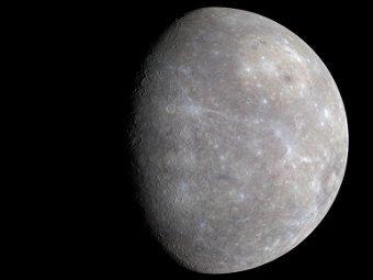 Фото Меркурия. NASA/Messenger