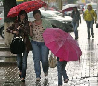 В Киеве будет холодно, местами кратковременный дождь