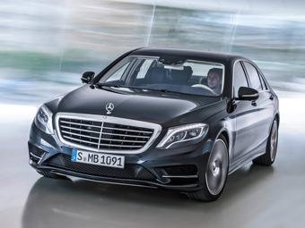 Mercedes-Benz S-Class. Фото Mercedes-Benz