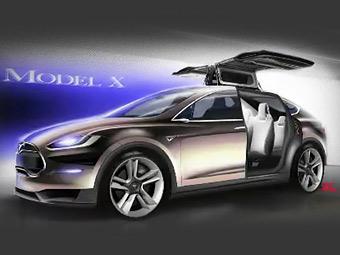 Tesla Model X. Фото Tesla