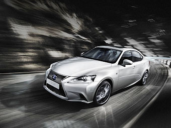 Новый Lexus IS. Фото Lexus