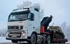 Тест-драйв тягача Volvo FH12: из Швеции с любовью
