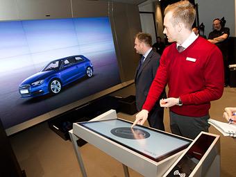 Audi первая в мире открыла цифровой шоу-рум