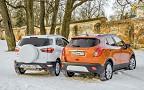 Ford EcoSport против Opel Mokka