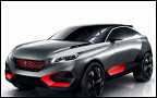 Peugeot показала 499-сильный гибридный кроссовер