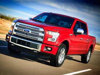 Ford F-150. Фото Ford