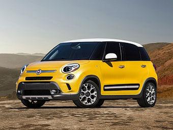 """Fiat представит """"внедорожную"""" версию 500L - Fiat"""