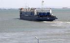 Впервые с начала лета Керченская переправа работает без скопления машин в порту «Кавказ»