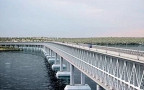В Крыму начали строить Керченский мост