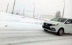 Lada Xray вновь замечена на дороге