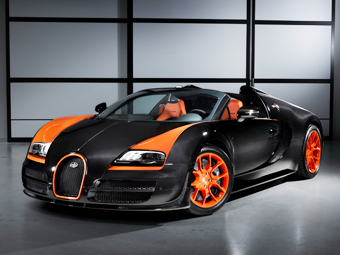 Bugatti Veyron Grand Sport Roadster WRC Edition. Фото Bugatti