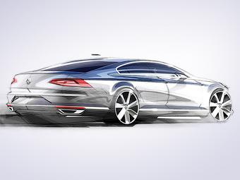 Вместо приборов у нового VW Passat будет TFT-дисплей