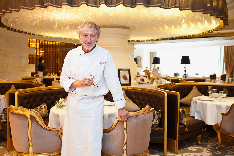 Пьер Ганьер в московском ресторане бывает наездами: он курирует около десятка ресторанов на планете одновременно