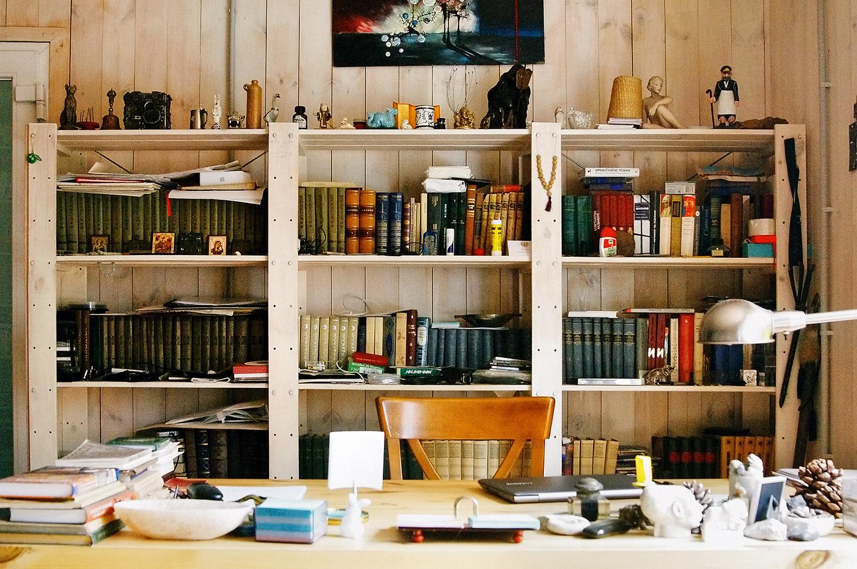 Как выглядит кабинет писателя