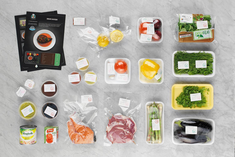 Тут в отличие от «Радости приготовления» подписаны даже очевидные вещи — а также их вес, что сильно упрощает приготовление еды