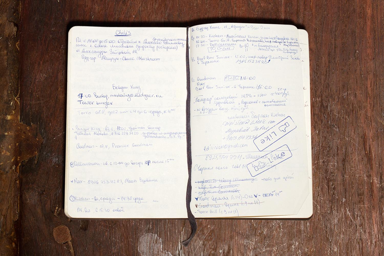 Записная книжка Анны Масловской
