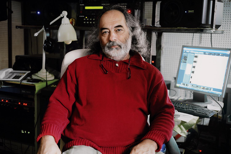 Сергей Леонидович Платонов, начальник радиоцеха театра «Современник»