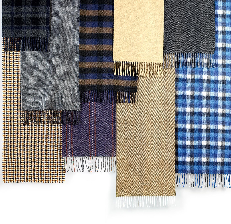Кашемировый шарфы