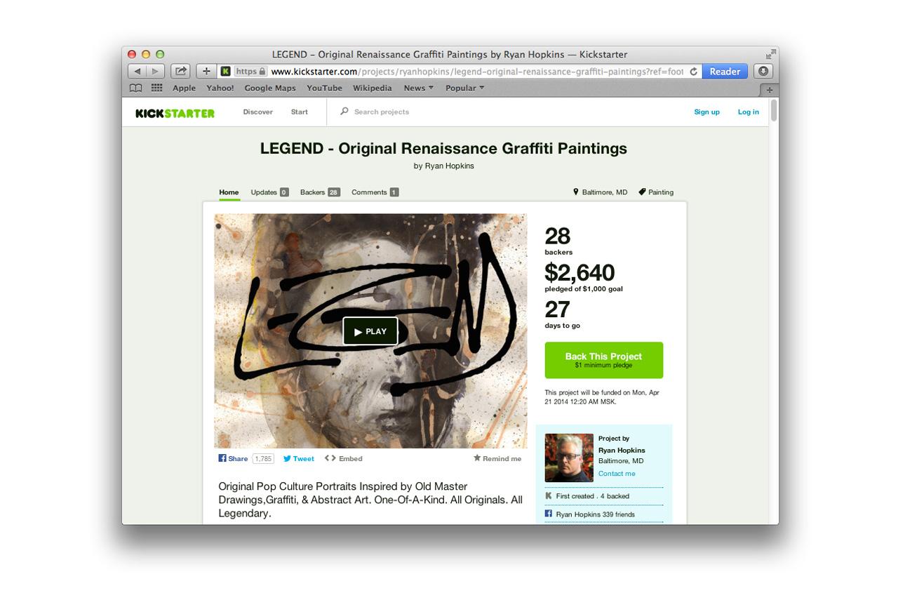 На Kickstarter.com можно часами искать, выбирать и покупать не произведенные еще товары — именно покупка идеи товара часто позволяет его в итоге произвести