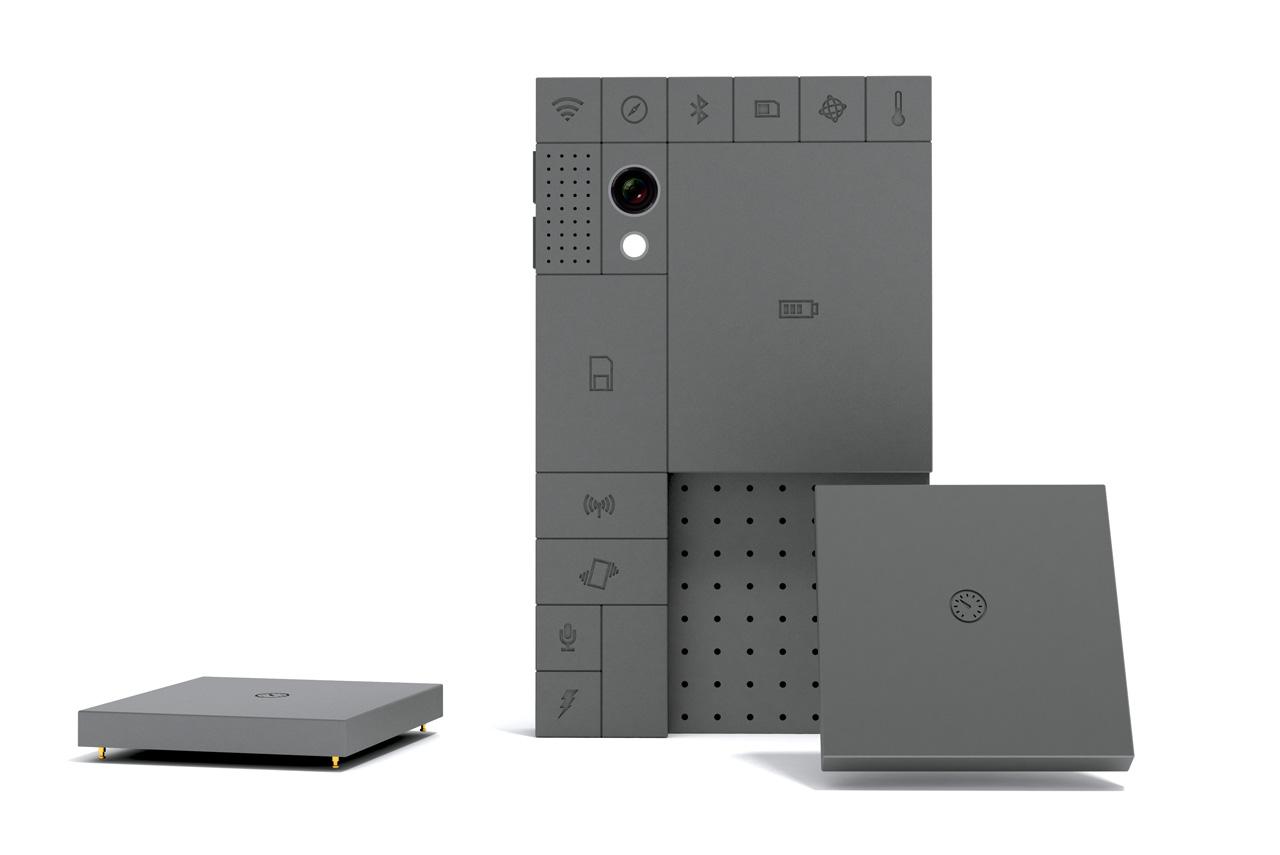 Телефон Phone Blocks, позволяющий самому добавлять или вынимать функции из телефона