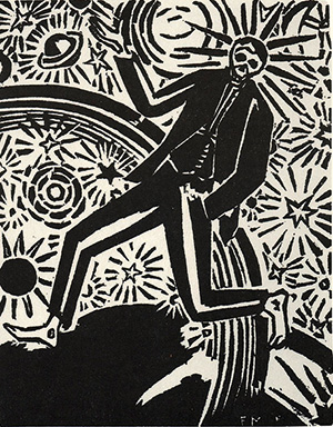 Комиксы бельгийского художника Франса Мазереля, выполненные в технике ксилографии, очевидным образом повлияли на «Мауса»