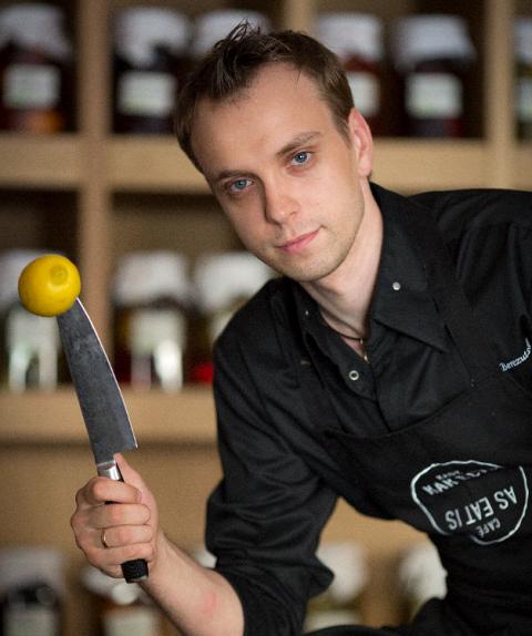 Бывший шеф-повар ресторана «Как есть» Сергей Березуцкий