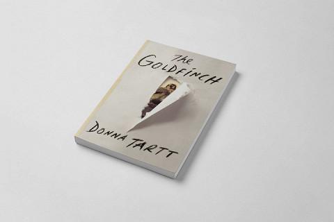 Обложка книги Донны Тартт с фрагментом картины
