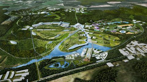Так видят будущий парк в компании Cushman & Wakefield