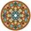восточный орнамент.  Марка нитей.  Теги.  300x282 креста. восток.  Гамма, 60 цветов. орнаменты.  5. узоры.