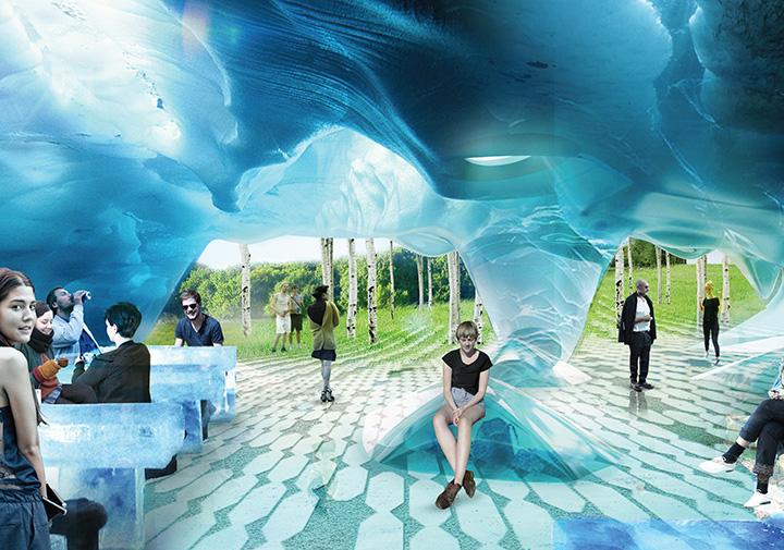 Хотя на территории парка будет даже ледяная пещера, архитекторы очень надеются, что «Зарядье» не превратится в очередной аттракцион для туристов, а будет привлекателен и для местных жителей