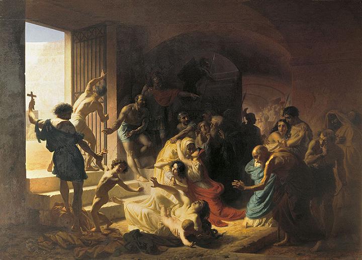 Константин Флавицкий. Христианские мученики в Колизее, 1862