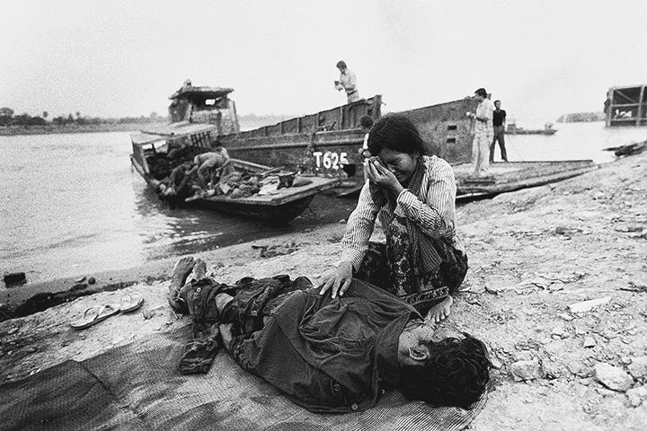 Убитый в ходе боев между повстанцами и войсками Лон Нола у реки Меконг в 1975 году