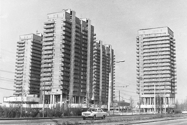 «Лебедь» был достроен в 1974 году по проекту Андрея Меерсона и Елены Подольской