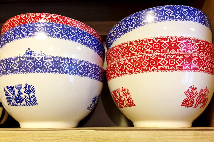 Варианты посуды в салоне «Дымов-керамика» на «Флаконе»