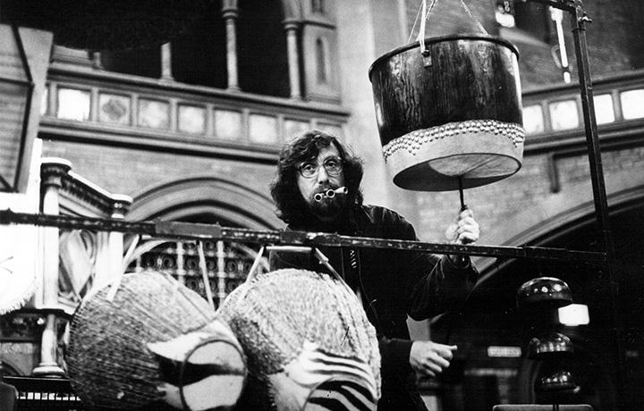 Пекарский исполняет «Приглашение к концерту» Александра Раскатова на фестивале «Алмейда» в Лондоне, 1989 год