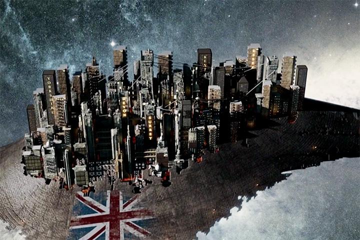 Космическая станция, на которой путешествуют в космосе остатки населения Британии, передвигается благодаря страданиям гигантского кита