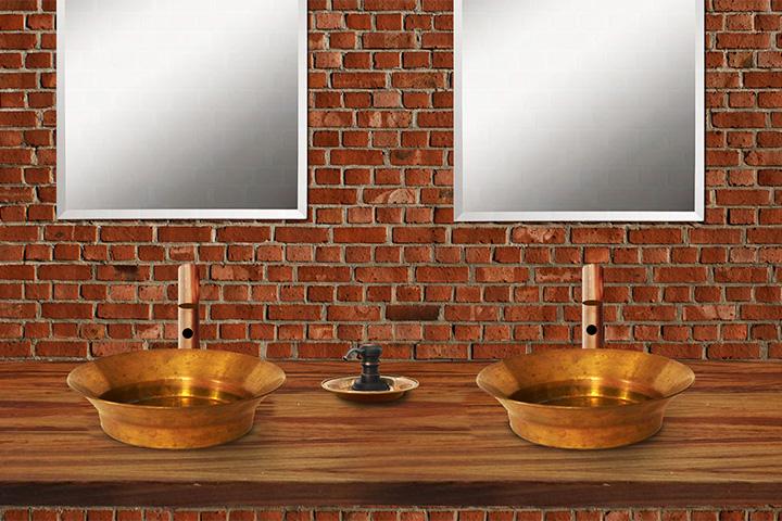 Дизайн-проект туалетных комнат