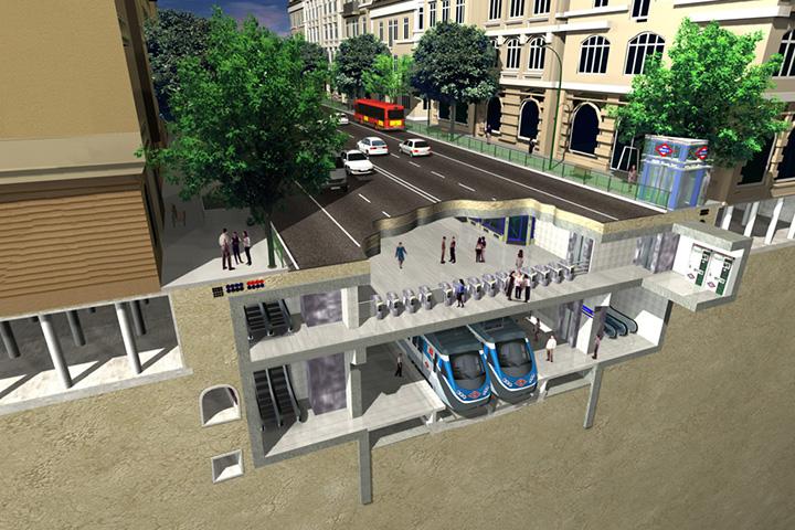 Одна станция метро по испанской технологии строится около двух лет. Соответственно, первые московские творения проектировщиков из Bustren можно будет увидеть уже в 2016-м