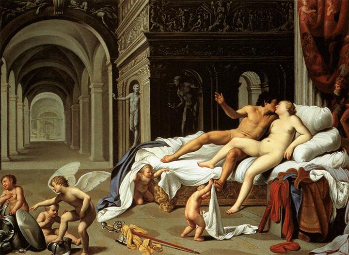 Карло Сарачени. Венера и Марс, ок. 1600