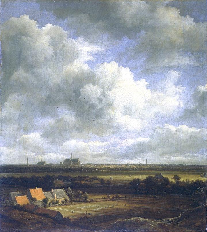 Соломон ван Рёйсдал. Вид на Харлем