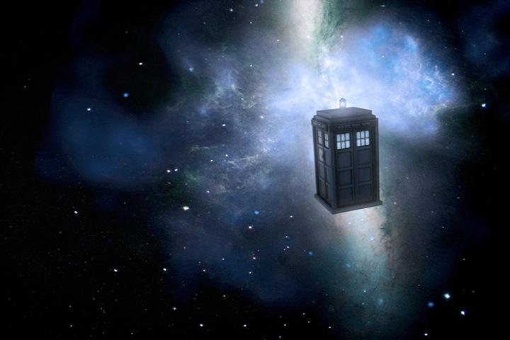 Будка Доктора - самый узнаваемый символ сериала