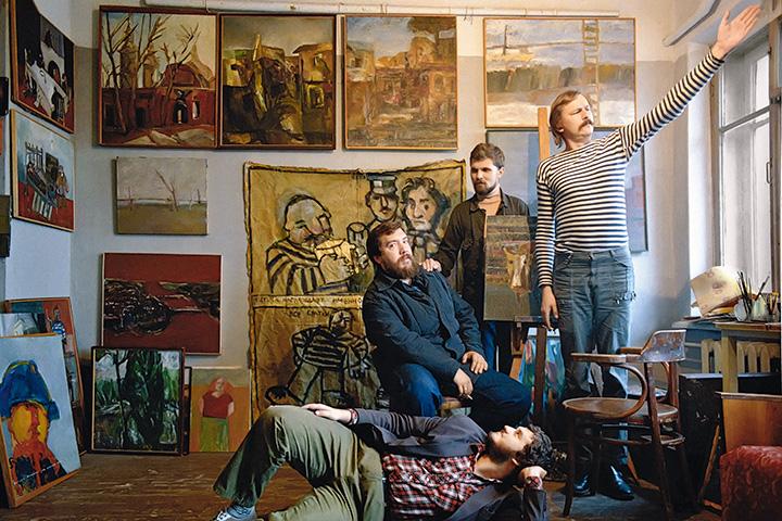 Митьки в отличие от других объединений художников всегда в охотку и с удовольствием привлекали к своей деятельности молодое поколение, в том числе и собственных детей