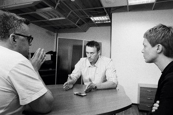 Юрий Сапрыкин и Алексей Навальный вместе входили в огркомитет протестных митингов зимой 2011-2012 годов