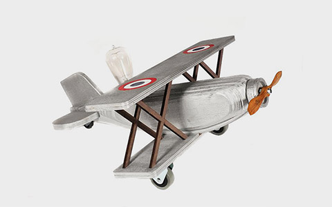 Лампа Silver Biplane Only Edison III