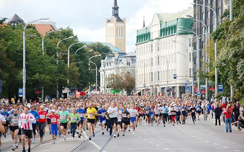 Участие в Таллинском марафоне