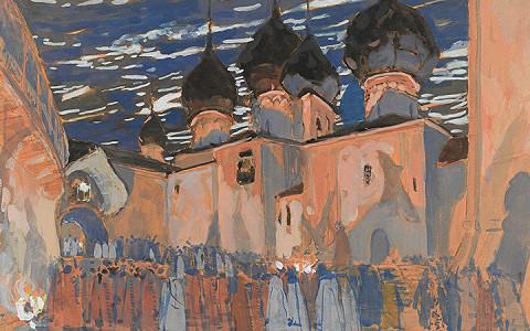Один из главных театральных художников Серебряного века в Третьяковской галерее