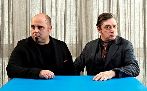Бликса Баргельд и Техо Теардо в «Театре»